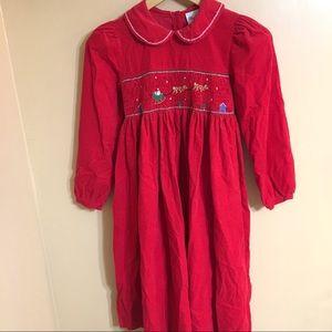Rare Editions Christmas dress size 10 girls